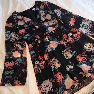 Floral Xhilaration dress